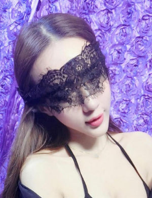 Lace Up Eye Mask & Bracelet Set