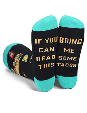 If You Can Read This Bring Me Sushi Socks