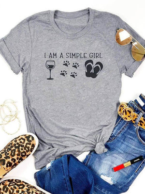 I am a simple girl T-shirt