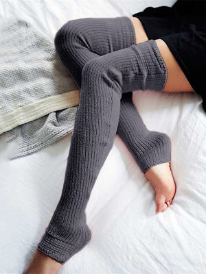 Knitted Over Knee Long Socks