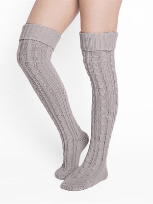 Winter Thigh High Socks