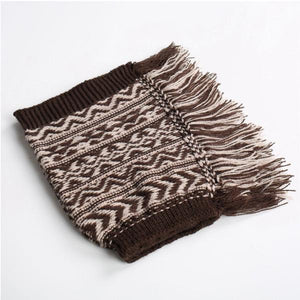 Ladies Christmas Bohemian Jacquard Warm Knitted Socks