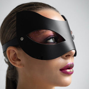 Leather Goth Mask