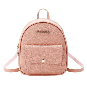 Women Shoulders Small Backpack Purse Mobile Phone Bag