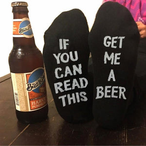 If You Can Read This, Get Me a Beer - Socks