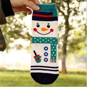 Christmas Cartoon Character Socks