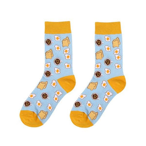 Food Print Socks