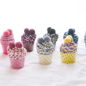 PomPom - Speckled Cupcake Socks