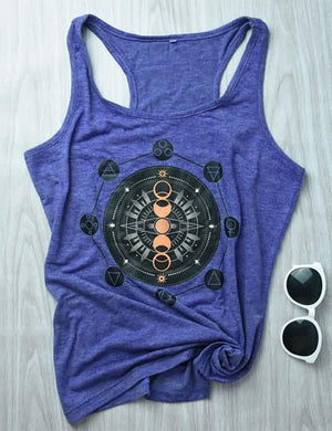 Graphic Print Tank Top