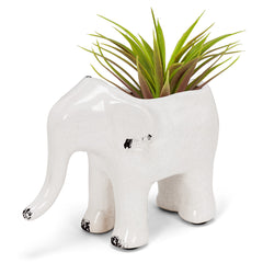 Manny Elephant Planter