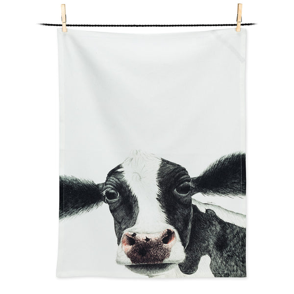 Annabelle Cow Dish Towel