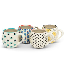 Load image into Gallery viewer, Tess Mugs, Set of 4