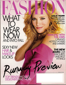 Fashion Magazine August 2009