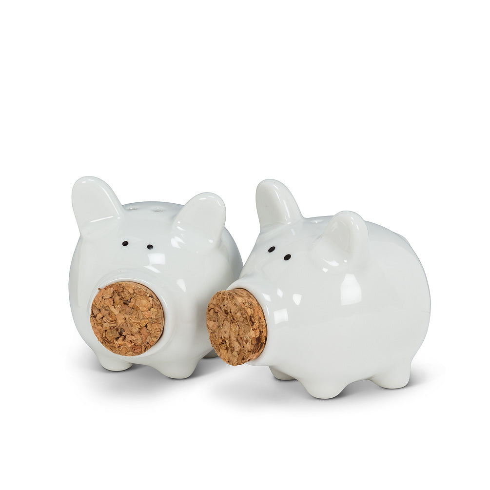 Piggys Salt & Pepper Shakers