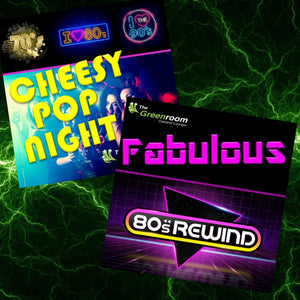 Fri 21st August 2020 - 70's vs 80's Cheesy Pop vs 80's Rewind