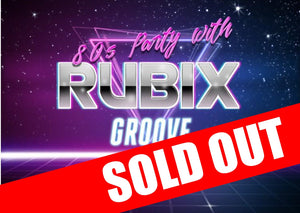 Saturday 14th Dec - Christmas Party Night with Rubix Groove and Gary Barker