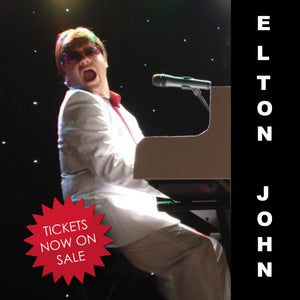Fri 1st May 2020 - ELTON JOHN - Sensational Tribute