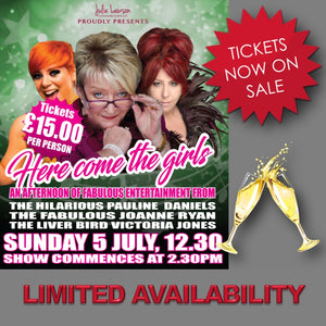 Sun 5th July 2020 - Here Come The Girls with Pauline Daniels