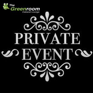 Fri 3rd April - Private Event