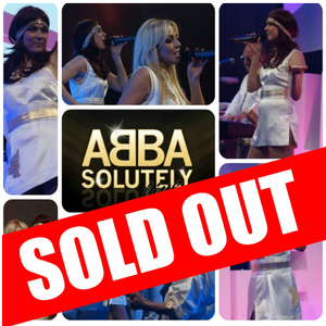 Sat 7th December - ABBASOLUTELY - The Ultimate Abba Tribute Show - Special MC Pete Price