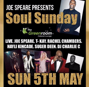Sun 5th May - Joe Speare Presents Soul Sunday