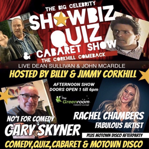 Sun 2nd June - The Big Celebrity Showbiz Quiz & Motown After Party