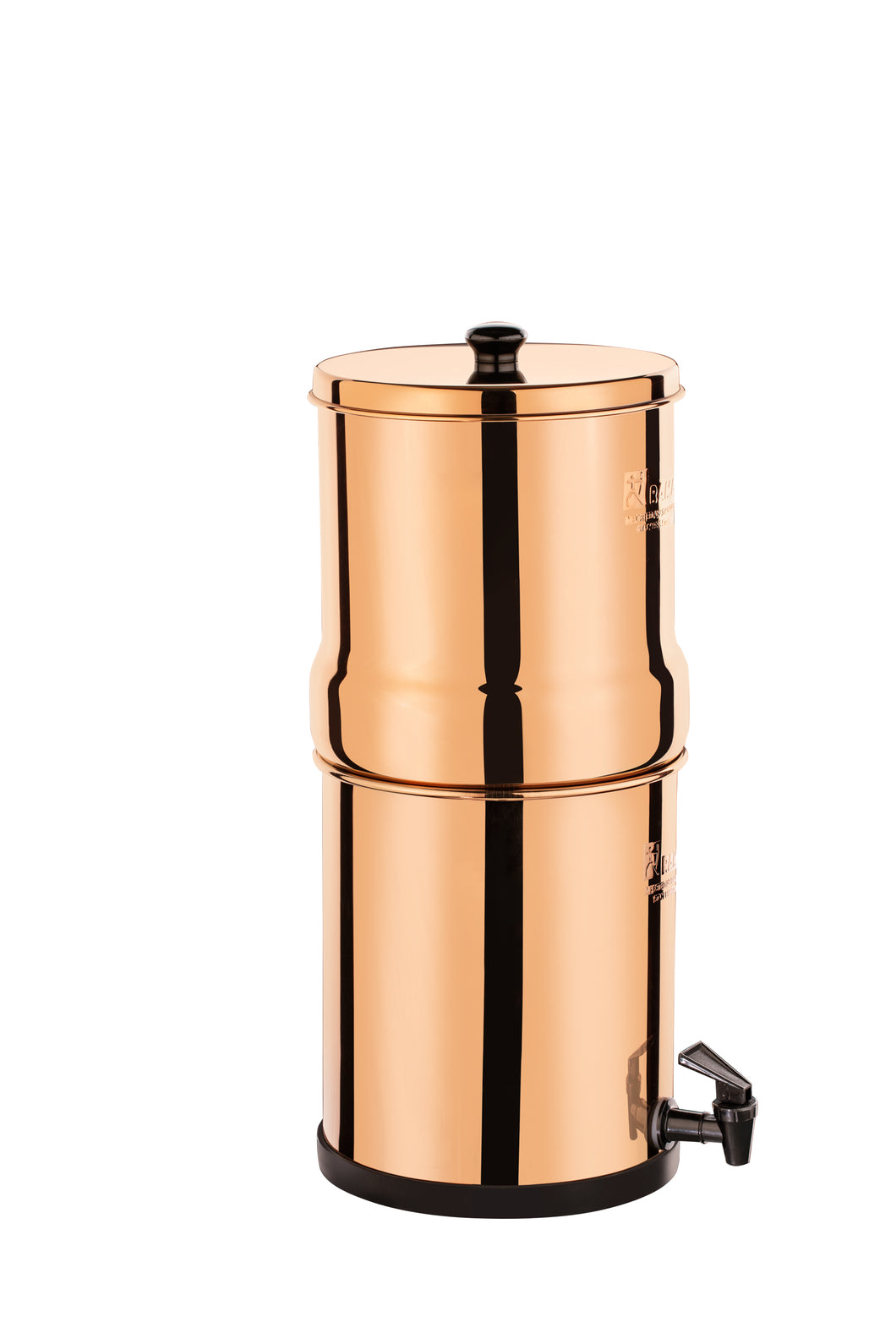 RAMA Gravity Stainless Steel Copper-Color Water Filter and Purifier, 10-Year Warranty, 99.99% Bacteria removal