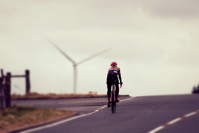 Female Brand Ambassador Clare Good goes Everesting