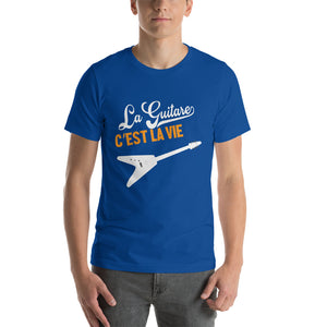 T-Shirt La Guitare Flying C'est la vie