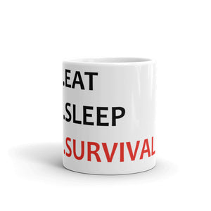 Mug Eat Sleep Survival