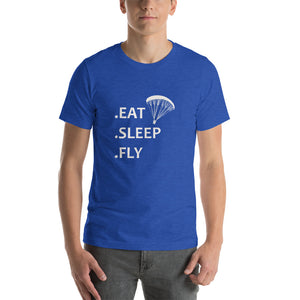 T-Shirt Eat Sleep Fly Parapente