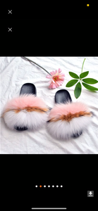 Boujee Fur Slides