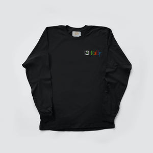 """APPLE"" LONG SLEEVE TEE"