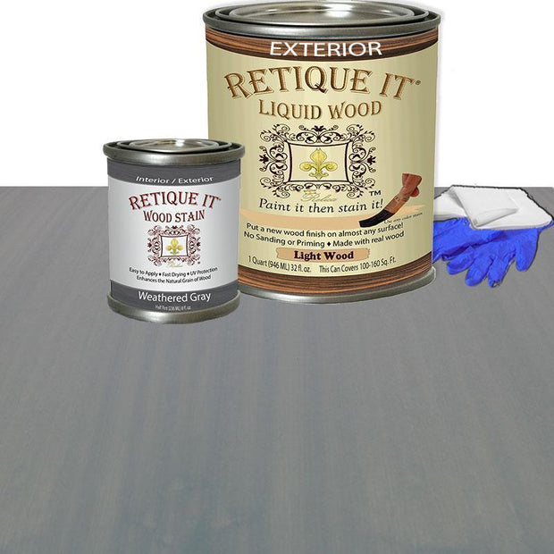 Liquid Wood Kits - Exterior