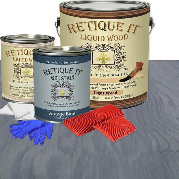 Liquid Wood Kits - 4X (Gallon)