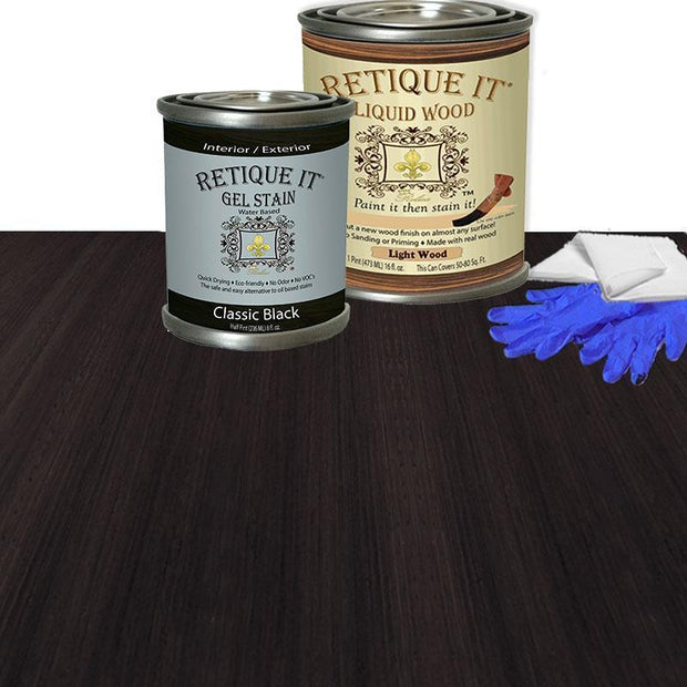 Liquid Wood Kits - Water-based Stain