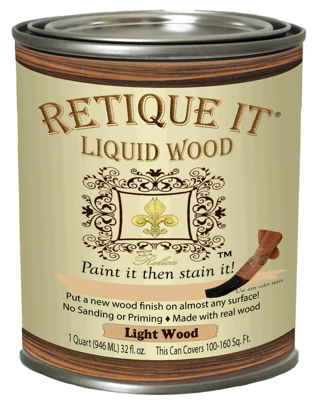 Liquid Wood Kits - Oil-based stain