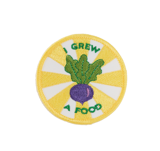 I Grew A Food Badge