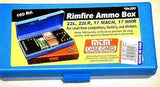 .22 MATCH AMMO BOX BLUESB-200
