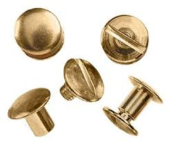 UNCLE MIKE'S SOLID BRASS CHICAGO SCREWS