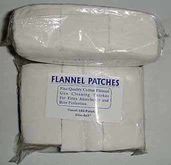 FLANNEL PATCH 4X2 PACK 180