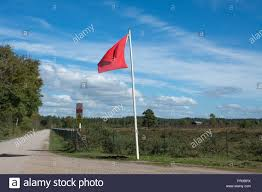 RED DANGER FLAG (SET OF 2)
