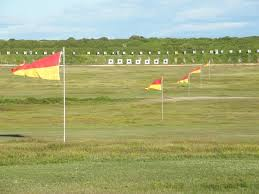 RED/YELLOW RANGE FLAGS
