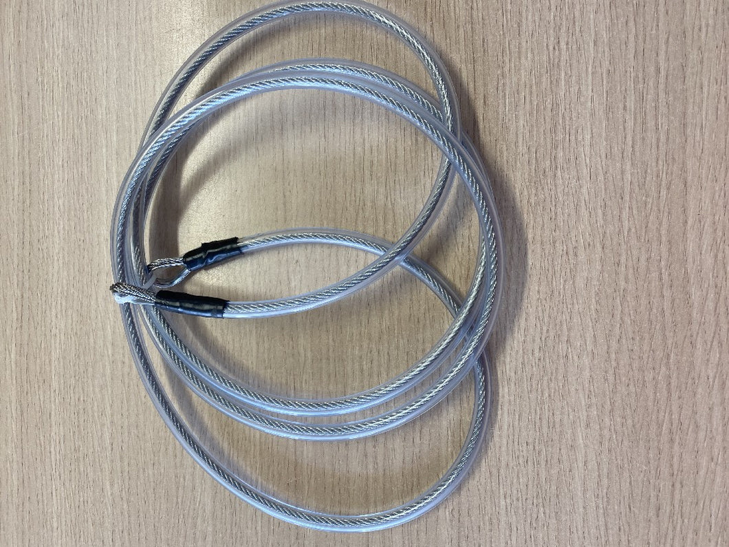 2.0 METRE STAINLESS STEEL SECURITY CABLE