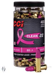CCI CLEAN 22 HIGH VELOCITY 22 LR (PINK)