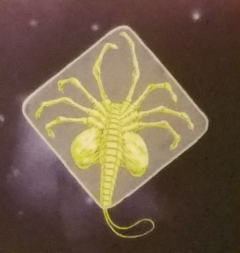 Alien 40th Anniversary Facehugger Washcloth / Face Towel Loot Crate Exclusive