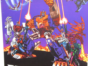 "Transformers Beast Wars BotCon 2000 11 x 17"" Poster (3H Archive)"