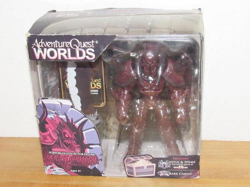 Adventure Quest Worlds Sepulchure The DoomKnight Action Figure