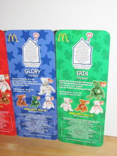 Load image into Gallery viewer, Ty Beanie Babies McDonalds International Bears Set of 4 (Maple, Glory, Britannia, & Erin)