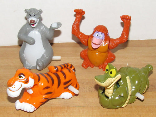 Disney Jungle Book McDonalds Happy Meal Toys Complete Set of 4